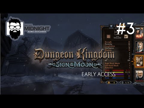 Dungeon Kingdom Sign of the Moon - Early Access - Temple Puzzles - Part 3