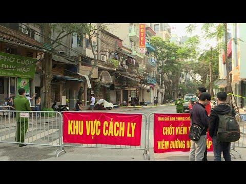 Hanoi Street Under Quarantine After New Coronavirus Case   AFP