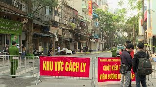 Hanoi street under quarantine after new coronavirus case | AFP