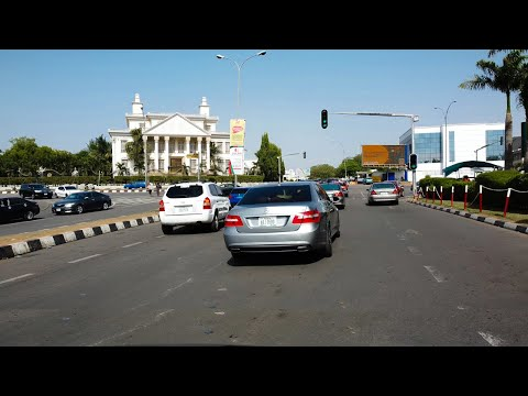 Driving Around In One Of The Wealthiest City In Africa, Abuja Nigeria