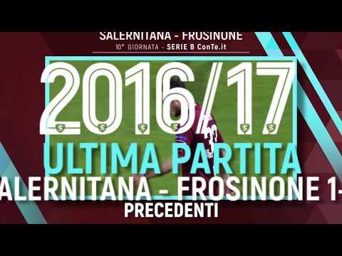 Salernitana - Frosinone: Precedenti