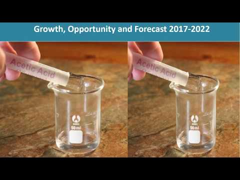 Acetic Acid Market Growth, Share, Opportunities, Competitive And Forecast 2016 To 2022