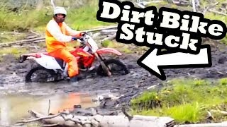 Dirt Bike Mudding