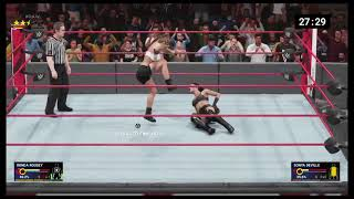 Playing as Ronda Rousey the Million Dollar Tower - WWE 2K19