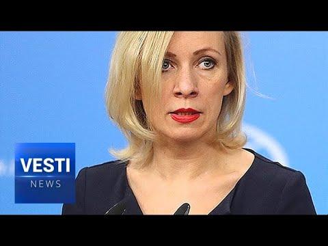 Zakharova: UK Needs to Tone It Down, Start Working With Russia Not Fighting Her