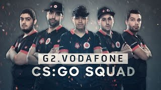 Meet G2.Vodafone CS:GO Squad! *English Subtitles*
