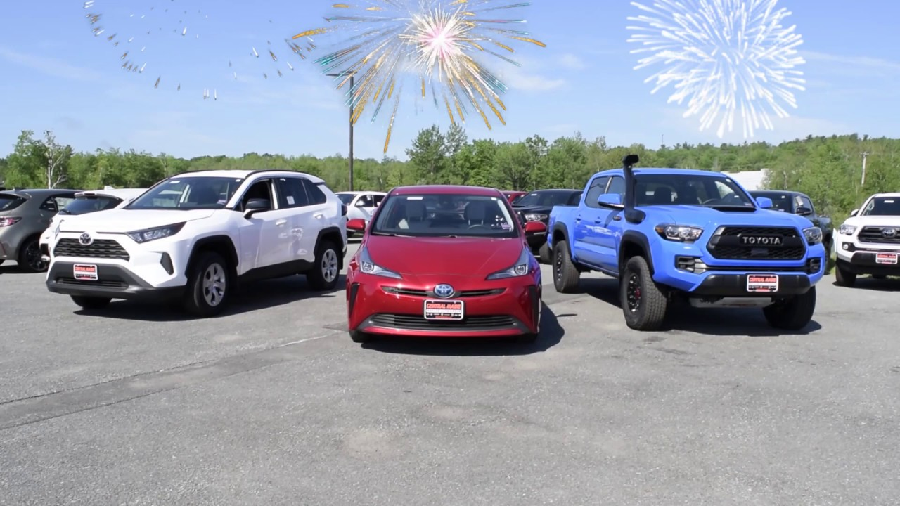 Central Maine Toyota >> Central Maine Toyota July 5th 6th Sales Event