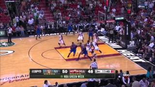 Jr smith duels lebron james, takes 22 three's