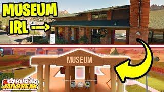 JAILBREAK MUSEUM IN REAL LIFE! (Roblox Jailbreak IRL)