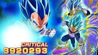 BEST 100% SUPER SAIYAN BLUE EVOLUTION VEGETA SHOWCASE! DBZ Dokkan Battle