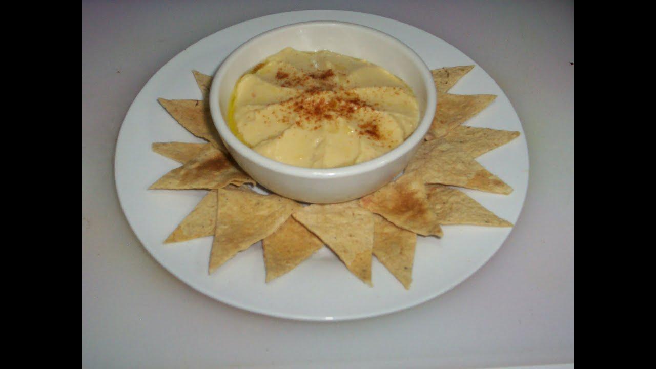 Hummus Garbanzo Receta 58 Comida Arabe Humus