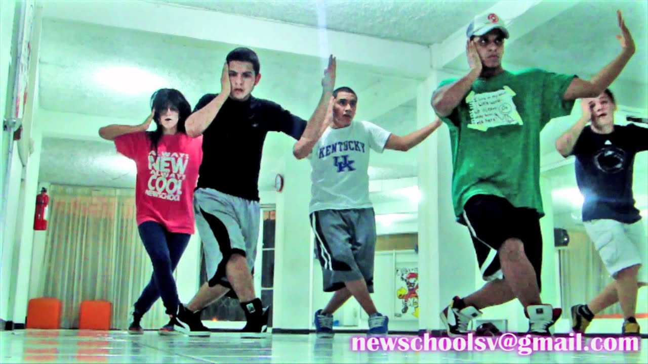NEWSCHOOL - STREET DANCE EL SALVADOR 6 - WE ARE YOUNG by FUN - YouTube