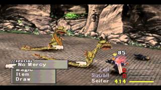 Final Fantasy VIII Get Ultimate Weapons On Disc One (including Lion Heart)