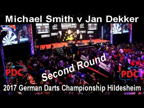 2017 German Darts Championship Hildesheim Michael Smith v Jan Dekker | Second Round