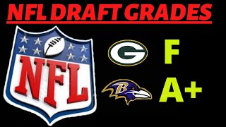 DRAFT Grades for all 32 NFL TEAMS Winners and Losers
