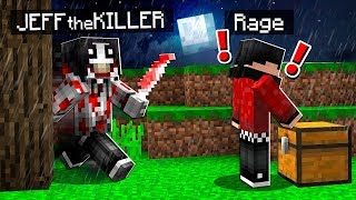 I FOUND Jeff The Killer in Minecraft! *Scary*