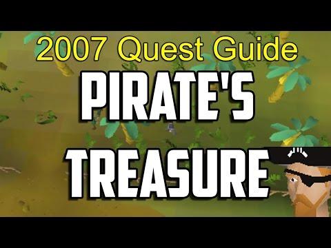 Runescape 2007 Pirate's Treasure Quest Guide