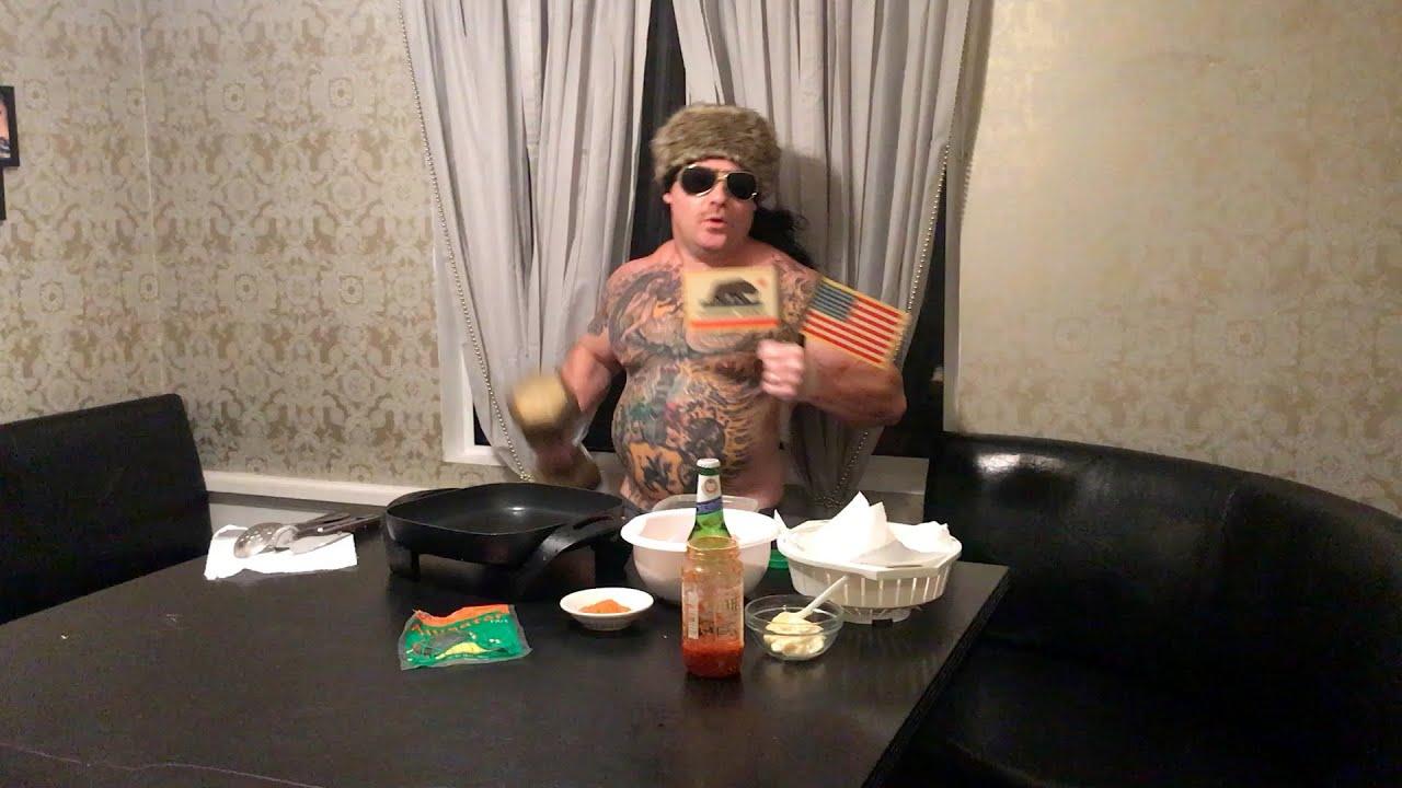 Redneck Kills and Cooks Alligator
