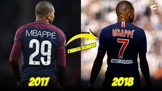 Footballers Who Change Shirt Number In One Club ⚽ Footchampion