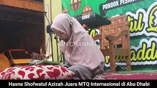 [3.92 MB] HASNA SHOFWATUL AZIZAH #JUARA MTQ INTERNASIONAL DI ABU DHABI