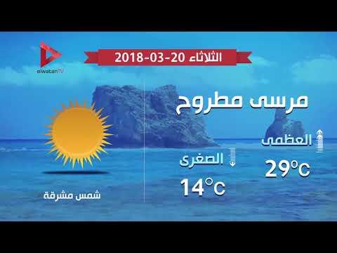 انخفاض في درجات الحرارة نهارا ..  والعظمى بالقاهرة 30