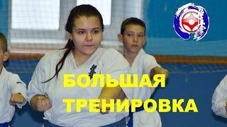 Большая тренировка каратэ /А great exercise in karate(Щихан Олин проводит в Челябинске БОЛЬШУЮ тренировку для начинающих бойцов Федерации каратэ киокушинкай..., 2015-11-22T22:49:27.000Z)