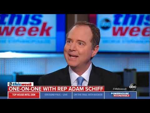 Rep. Schiff on ABC This Week: We Will Enforce Our Ability to Do Oversight