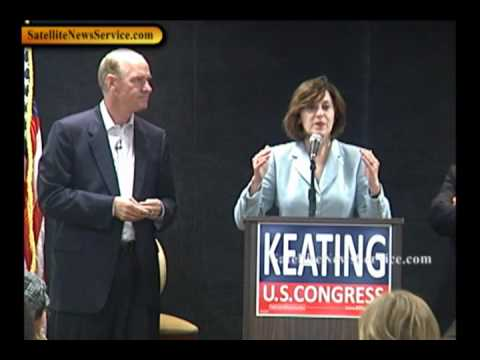 HYANNIS, MA- Vicki Kennedy Campaigns for William Keating (10-03-10)