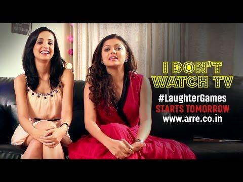 I Don't Watch TV   Drashti and Sanaya Don't Watch TV   #LaughterGames