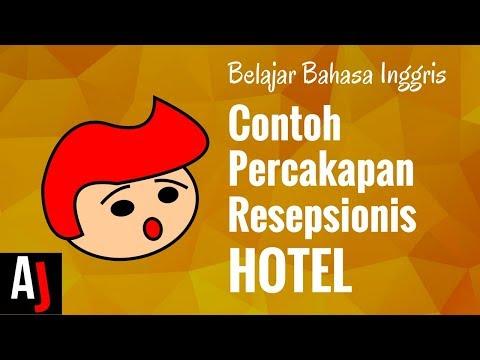 Contoh Percakapan Bahasa Inggris Resepsionis Hotel