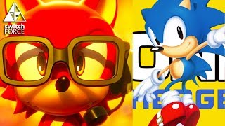Sonic Forces vs. Sonic Mania! Gameplay + Impressions!