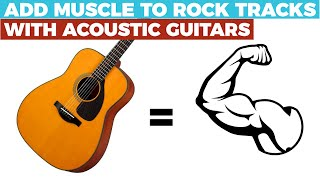 """PRODUCER'S SECRET: Add MUSCLE to rock tracks with ACOUSTIC guitars- """"Time of the Season"""" Cover"""