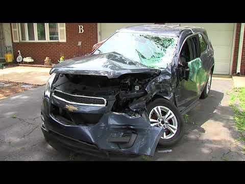 Man survives crash after airbags didn't deploy