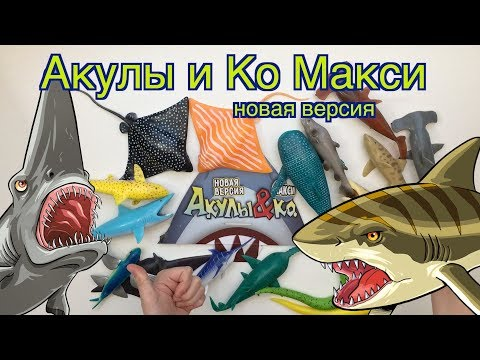 Мультфильм акулы макси