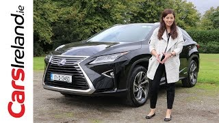 Lexus RX450H Review | CarsIreland.ie