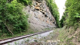 Steepest Railroad Grade In North America! Non Cog Railway.  No…