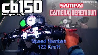 Test Gear 14/44 Speed UP !!!  #SukabumiMotoVlog