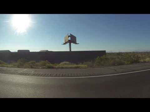 AZ SR 85 North over Gila River to I-10 East, Buckeye, Arizona, 5 November 2016 GP035573