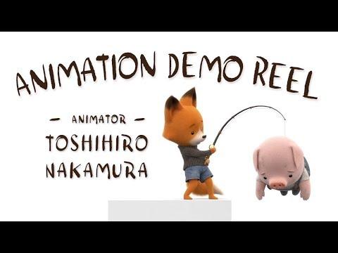 Tonko House Animator, Toshihiro Nakamura's Animation Demo Reel