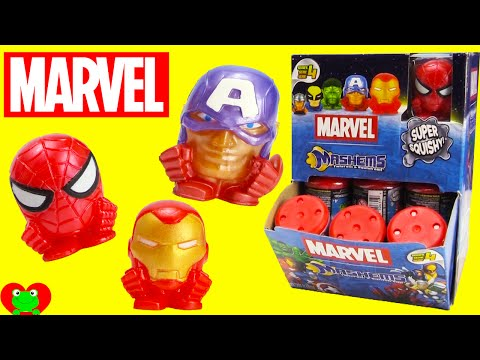 Marvel Mashems Spiderman, Iron Man, Captain America and More