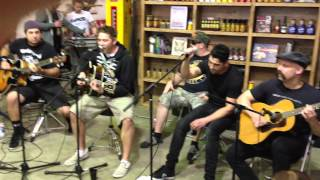 Zebrahead - Call Your Friends (Acoustic) Live in Australia 2014