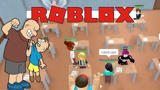 HIGH SCHOOL BULLY BEAT ME UP - Roblox Escape The School