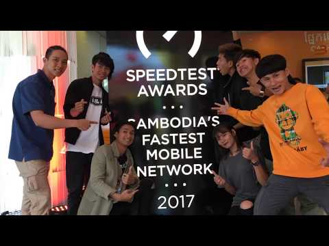 Cellcard awarded Cambodia's Fastest Mobile Network
