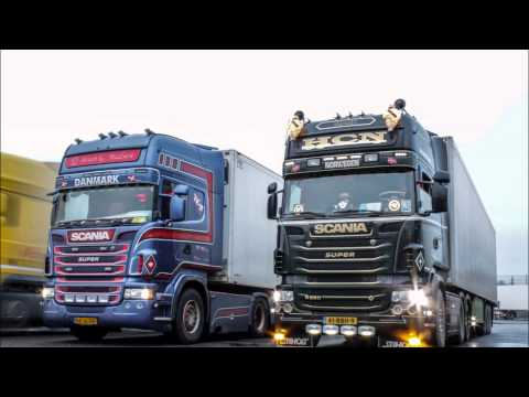 Trip to Norge with the Scania R560 V8 HCN Internationaal Transport B.V.