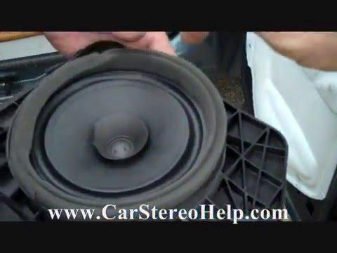 07 13 silverado sierra bad door speakers fixed doovi for 07 silverado door panel removal