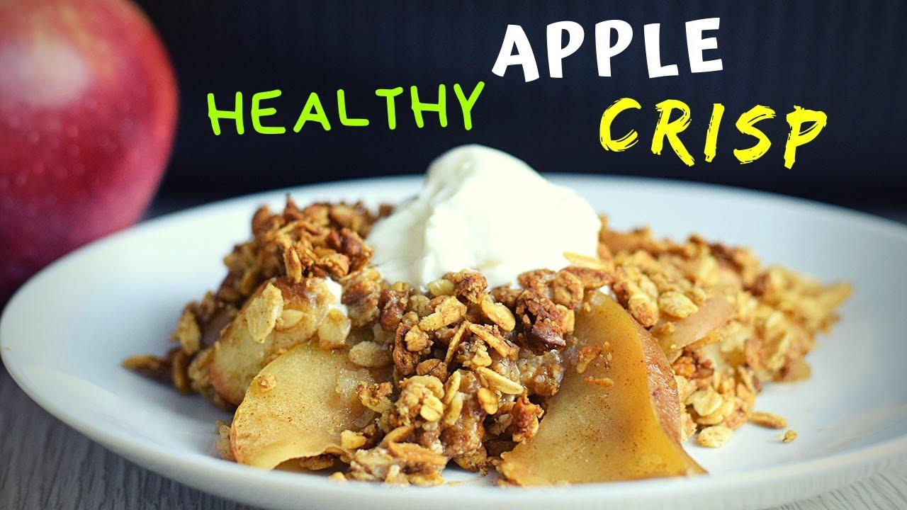 Apple Crisp Recipe (healthy version!)