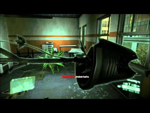 Crysis 2 - When gravity fails