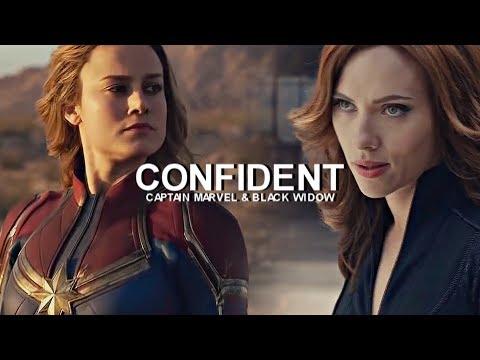 Captain Marvel & Black Widow || Confident