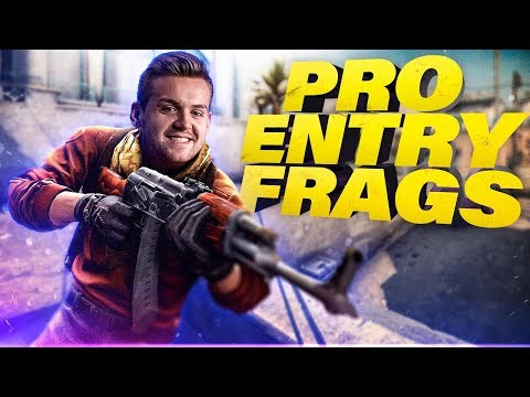 WHEN CS:GO PROS DO INSANE SITE ENTRIES! (AMAZING ENTRY FRAGS)