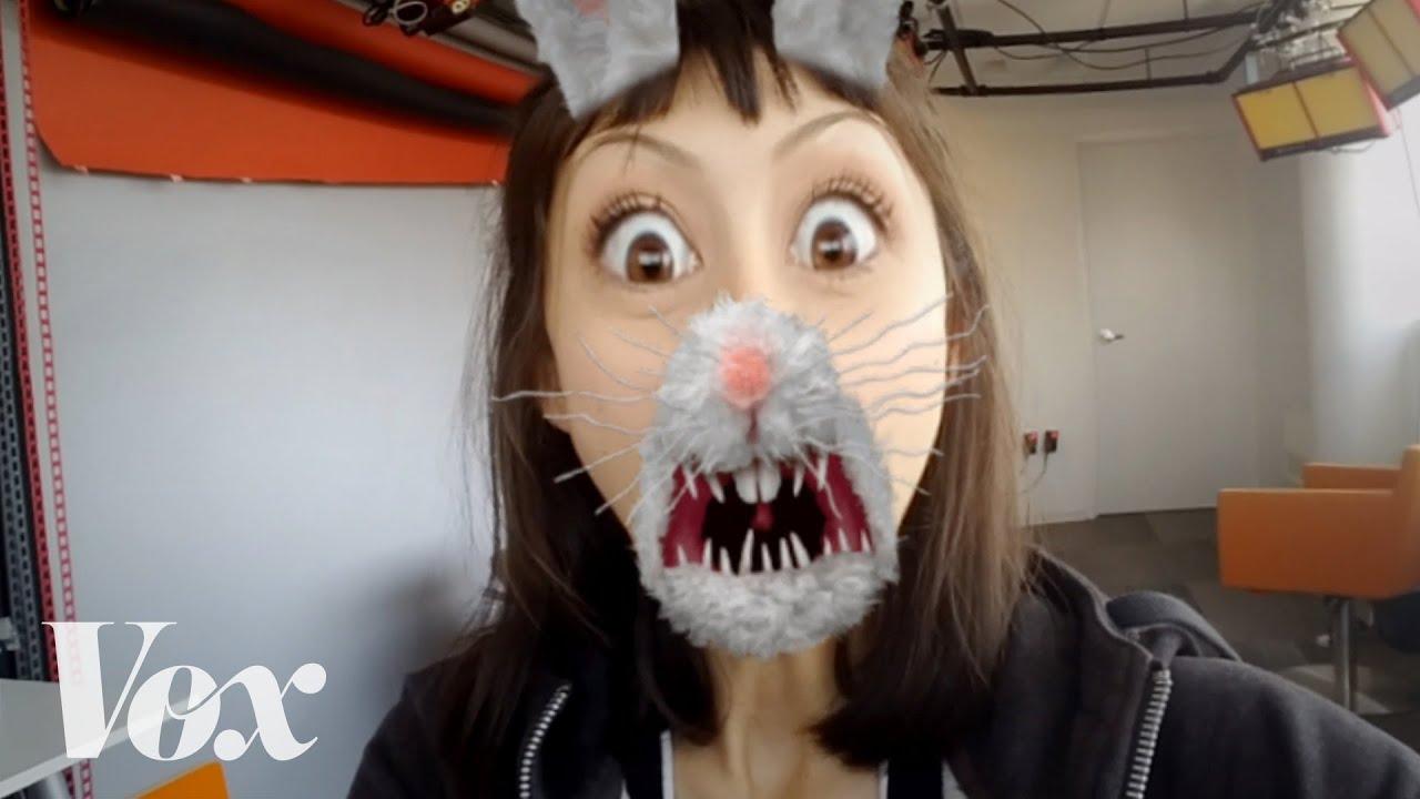 Jak działa Snapchatowy filtr do dodawania durnych minek m.in. psa?